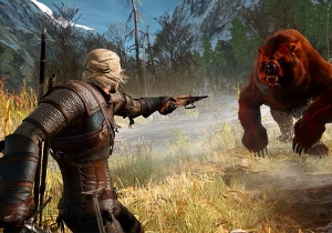 A Clever Modder Staged A Massive Bears vs. Cyclopes War In 'The Witcher III'