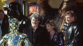 Watch 1995 George Lucas Talk About 'Star Wars,' The Special Editions, And Working On The Prequels