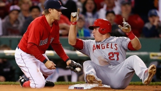 Mike Trout Is A Baseball Ninja And This Video Is Proof