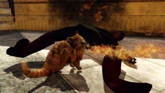 You Can Play As A Fire-Breathing Cat Wreaking Mayhem In 'Grand Theft Auto V'