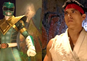 The Green Ranger Fought Ryu In A Mighty Street Fight For The Ages