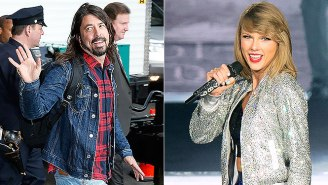 Dave Grohl Says He's Obsessed With Taylor Swift, Which, Like, Join The Club