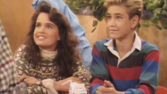 Carla Gugino Talked About Playing A Love Interest To Zack Morris And Kevin Arnold