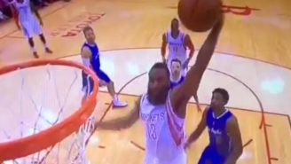 James Harden Slams It Home For His First Points Since The Opening Quarter