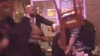 Cameras Caught A Vicious Attack On A Gay Couple In A New York City Restaurant