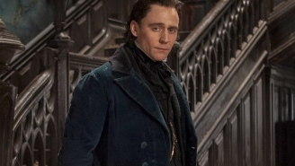 Tom Hiddleston teases kink, creepiness and complexity on the set of 'Crimson Peak'