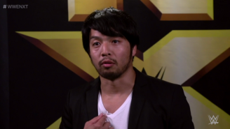 Want To See Hideo Itami's Gross Shoulder? Of Course You Do.