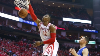Dwight Howard Absolutely Crushed This Alley-Oop From James Harden