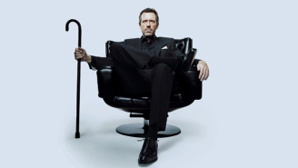 Hugh Laurie Can't Stop Doing The 'House' Limp