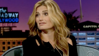 Idina Menzel Doesn't Know Who The Rock Is