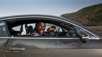Idris Elba Just Broke An 88-Year-Old Land Speed Record In A Bentley