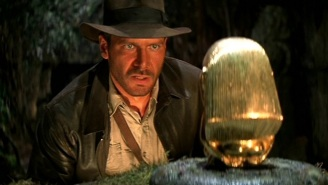 Steven Spielberg Talks Up 'Indiana Jones 5' During A Harrison Ford Tribute