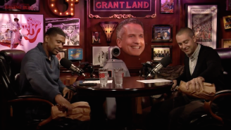 Jalen Rose And Jacoby Pour One Out For Bill Simmons On Their Latest Podcast