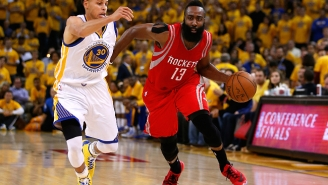 Stephen Curry To MVP Runner-Up James Harden: 'All Year, You Pushed Me'