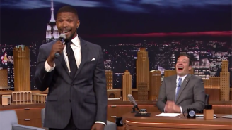 Jamie Foxx Belted Out Some Pitch-Perfect Imitations Of John Legend And Jennifer Hudson On 'Fallon'