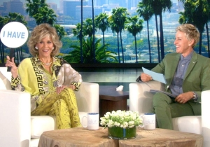 Jane Fonda reveals who invited her to the Mile High Club