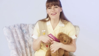 Jenny Lewis Spoofs Her Child-Star Past In The 'She's Not Me' Music Video