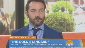 Jeremy Piven Is Doing Press For The 'Entourage' Movie In Character As Ari Gold