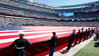 The U.S. Government Is Paying NFL Teams To Honor The Military During Games