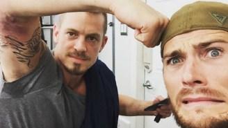 Joel Kinnaman Tore A Biceps On The 'Suicide Squad' Set