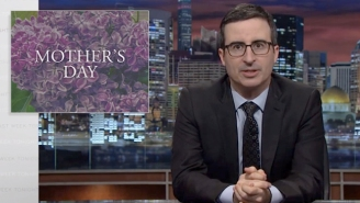 For Mother's Day, John Oliver Reminded Us Of Our Terrible Family Leave Policies