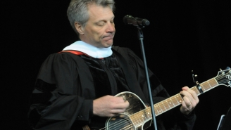 Jon Bon Jovi Wrote And Performed A Song For The Graduates Of Rutgers University