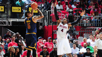 J.R. Smith, A Walking Heat Check, Shot The Cavs Right Back Into The Game After Trailing Early