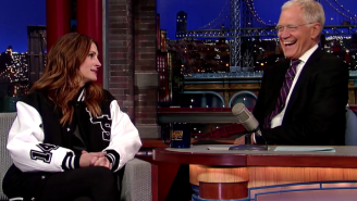 Julia Roberts Worried David Letterman Would Think She Wasn't Too Smart