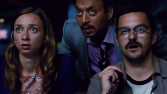 This New 'Jurassic World' Clip Will Make You Hope Jake Johnson Doesn't Die