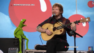 Ed Sheeran just introduced a whole new generation to Kermit's 'Rainbow Connection'