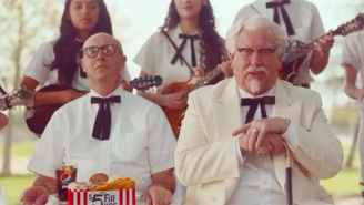 People Apparently Hate The New Colonel Sanders And KFC Couldn't Be Happier