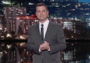 Watch Jimmy Kimmel Fight Back Tears Wishing David Letterman Farewell
