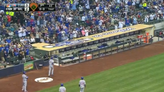 The Cubs Pranked Rookie Kris Bryant By Hiding In The Clubhouse After His First Career Homer