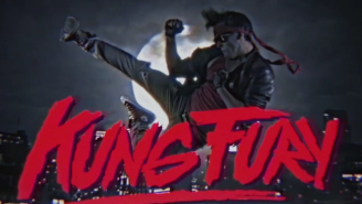 'Kung Fury' Is A Glorious '80s Fever Dream With Dino Cops And David Hasselhoff