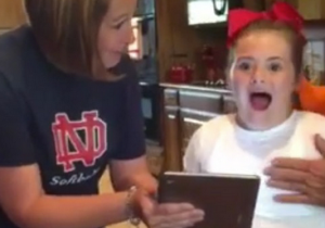 Watch A Young Girl With Down Syndrome React To Making The Cheer Team