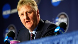 Bet You Didn't Know Larry Bird Had A College Baseball Career, And He Batted .500