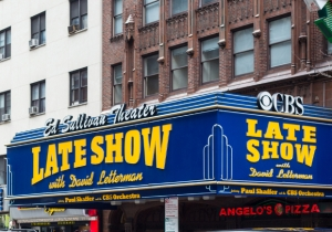 David Letterman's 'Late Show' Marquee Has Been Taken Down