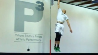 Slam Dunk Champ Zach LaVine Is Already Training To Increase His Insane Vertical Leap