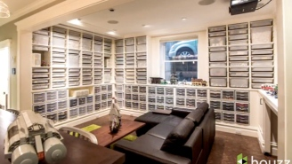 Meet The Architect Who Remodeled His Basement Around His 250,000-Piece LEGO Collection