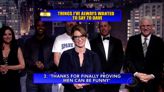 Two Of The Jokes In Letterman's Star-Studded Final Top 10 Were Written By A 21-Year-Old Intern