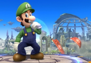 Luigi Beats His 'Super Smash Bros.' Foes By… Just Standing There.