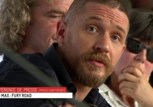 Watch Tom Hardy Shut Down A Journalist's Sexist Question About 'Mad Max: Fury Road'