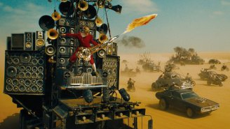 So The Flamethrowing Guitar In 'Mad Max: Fury Road' Is A Working Musical Instrument