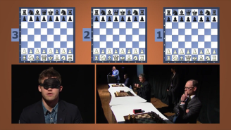 The World Chess Champion Played And Won Three Games While Blindfolded