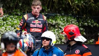 Watch This 17-Year-Old F-1 Racecar Driver Walk Away From An Insane Crash