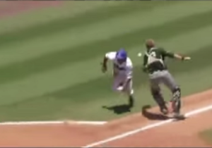 A College Baseball Team Turned A Routine Grounder Into A Little League Blooper