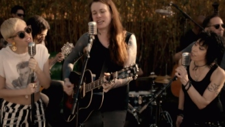 Watch Miley Cyrus, Laura Jane Grace, And Joan Jett Cover The Replacements For A Good Cause
