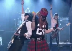 The 'Worst Band To Ever Play Letterman' Is A Guns N' Roses Cover Group