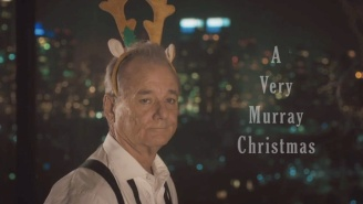 Here's The Teaser For Netflix's Bill Murray Christmas Special, 'A Very Murray Christmas'