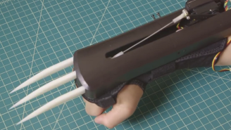 These Bionic Sensor Claws Will Make The Perfect Wolverine Halloween Costume